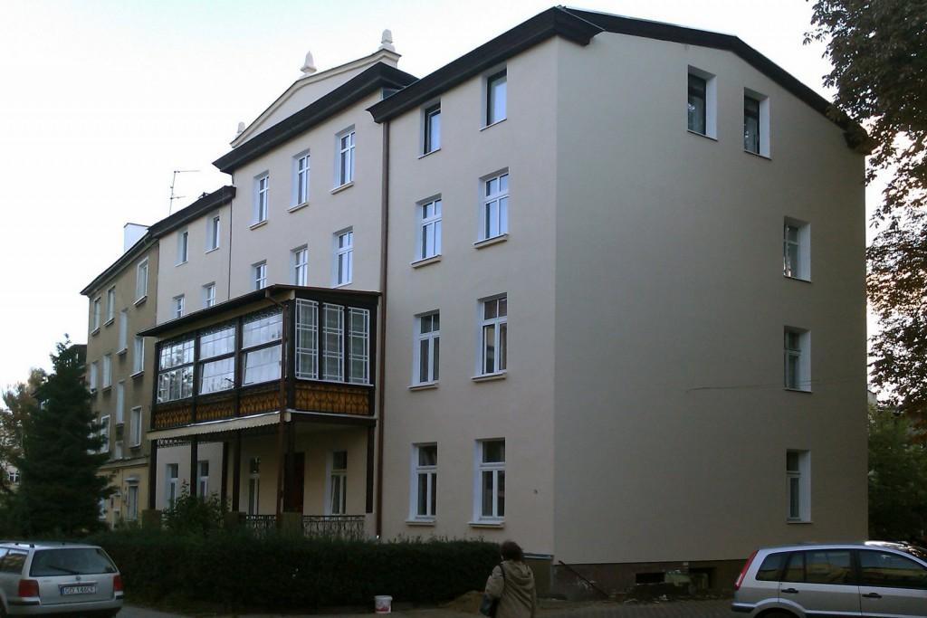 Elewacje - Gdašsk, Warynskiego 6 5