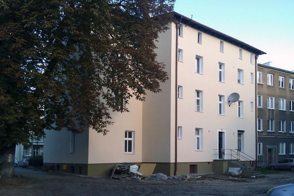 Elewacje - Gdašsk, Warynskiego 6 6