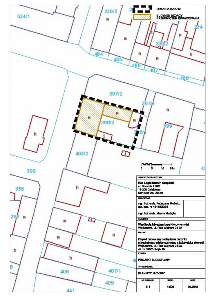 Elewacje - Wejherowo, Plac Wejhera 2 i 2A 1