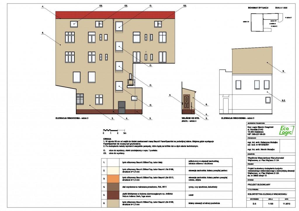 Elewacje - Wejherowo, Plac Wejhera 2 i 2A 3